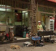 Chinese Takeaway by Peter Hammer