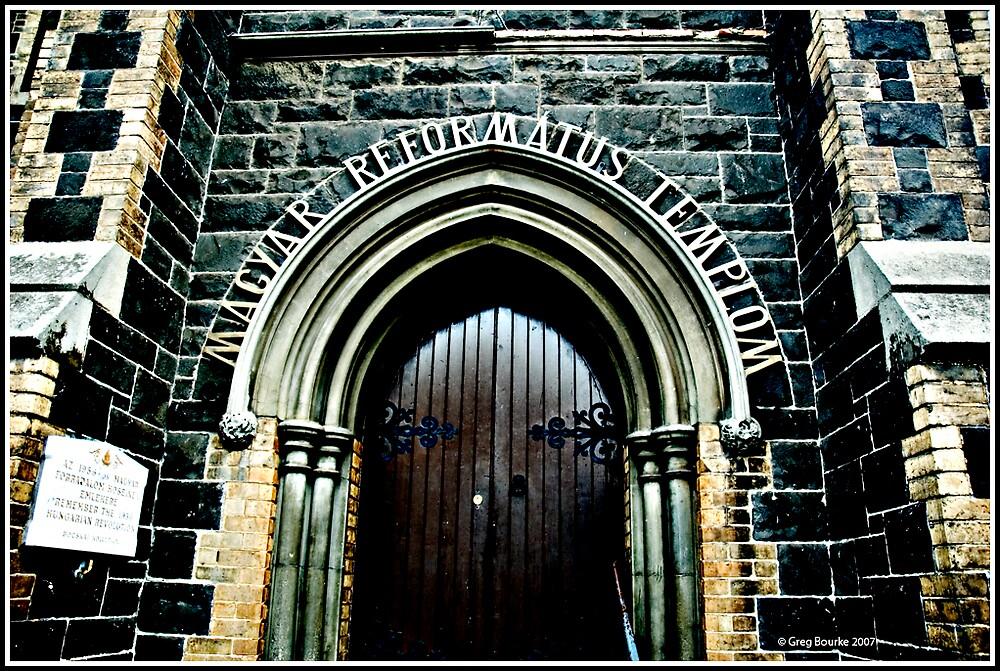 Church door by GregB