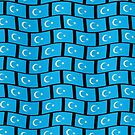 Uyghur flag wallpaper by stuwdamdorp