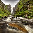 Wailing Widow falls in Summer Spate. Assynt. North Coast 500. Highland Scotland by PhotosEcosse