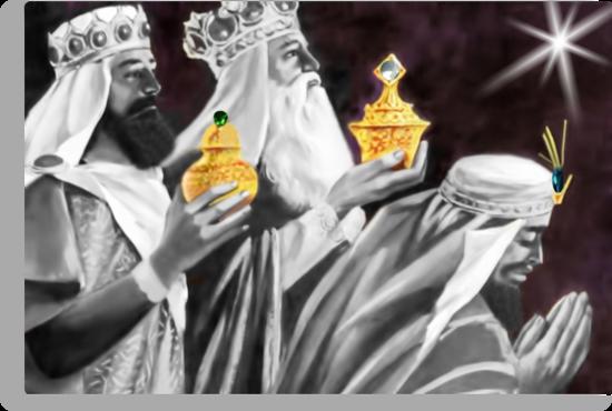 ♚ ☆ Gaspar, Melchior, and Balthasar,The Three Wise Men ☆♚by (no text) by ✿✿ Bonita ✿✿ ђєℓℓσ