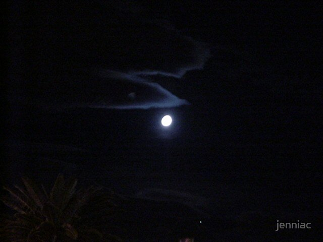 The Moon in Vegas by jenniac