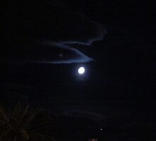 The Moon in Vegas by jenniac