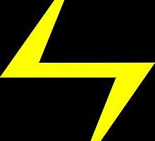 Superb Lightning Bolt design. by dirttrackvibes