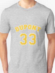 Jason Williams 33 Dupont High School Panthers Basketball  Unisex T-Shirt
