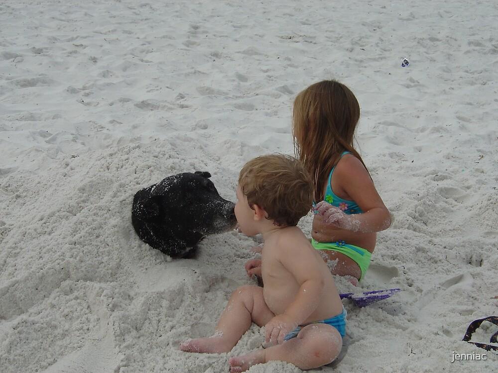 My babies Love the Beach by jenniac