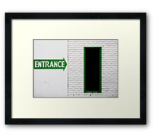 To Ireland..... Framed Print