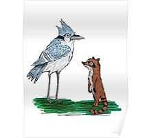 Mordecai and Rigby Poster