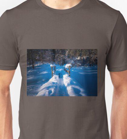 Alpine winter, Austria Unisex T-Shirt