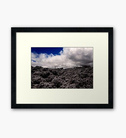 Lava Field 2 Framed Print