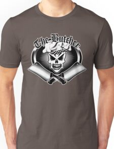 """Butcher Skull and Cleavers 2: """"The Butcher"""" Unisex T-Shirt"""