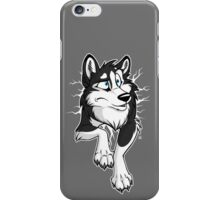 STUCK Husky Black iPhone Case/Skin