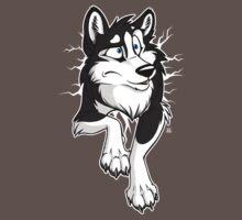 STUCK Husky Black by tanidareal