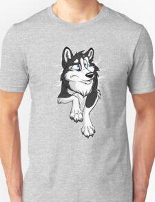 STUCK Husky Black T-Shirt