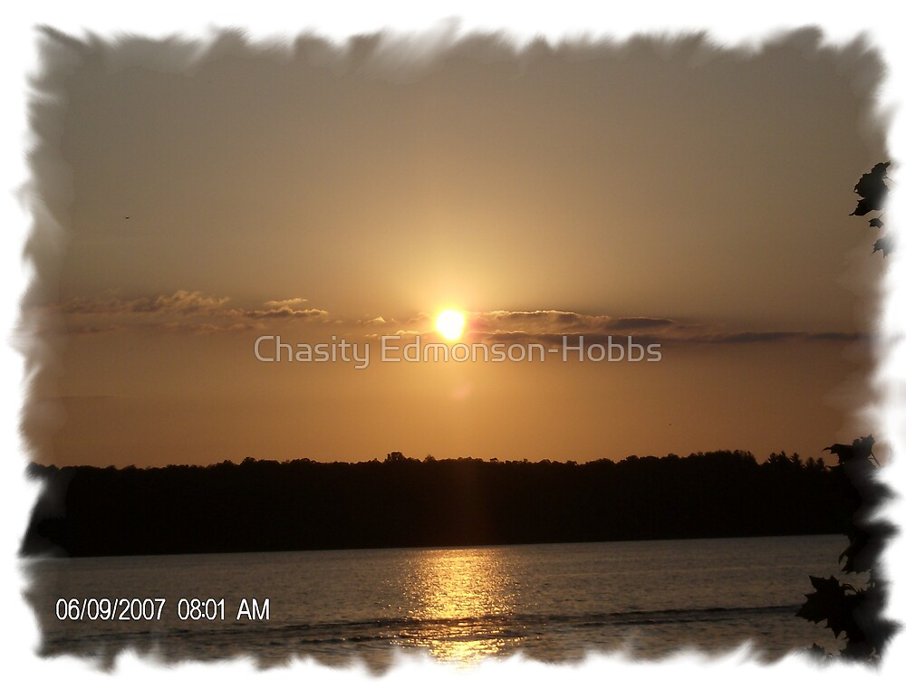 Sunset by Chasity Edmonson-Hobbs
