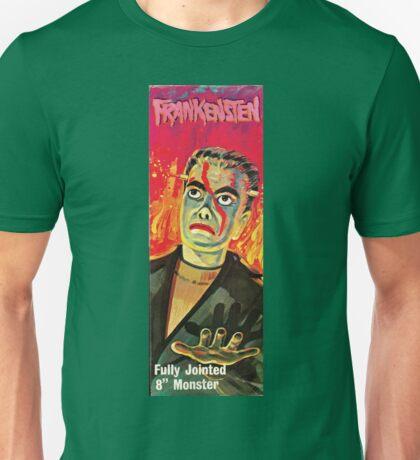 Lincoln Monsters: Frankenstein Box Art Mego Knock Off Unisex T-Shirt