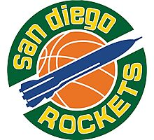 San Diego Rockets Photographic Print