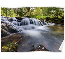 Mountian Water Poster
