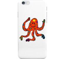 octopus in mittens iPhone Case/Skin