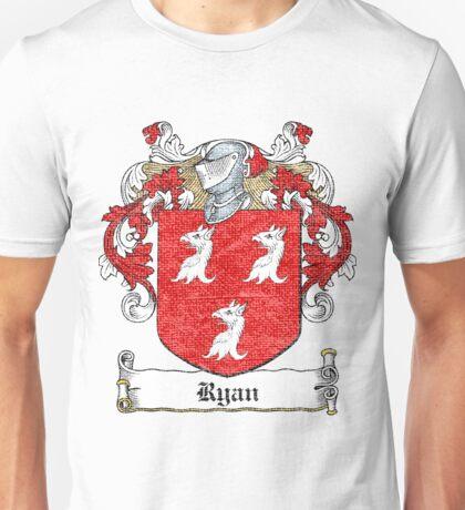 Ryan Irish Family Crest Unisex T-Shirt