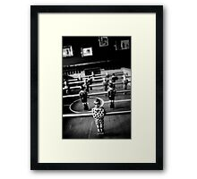 3 out of 5 Framed Print