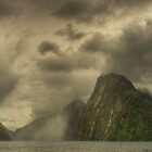 Stormy afternoon, Milford Sound by Kevin McGennan
