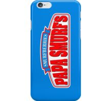 Papa's Smurfberries iPhone Case/Skin