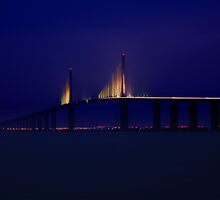 Skyway Bridge - St. Petersburg, Florida by Brian Barnes StormChase.com