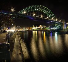 The Tyne Bridge, Newcastle by Dave Hudspeth