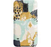 Tinsley - Modern abstract painting in bold, fresh colors Samsung Galaxy Case/Skin