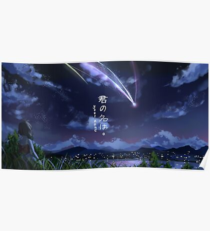 Kimi No Na Wa Your Name Poster