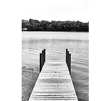 Forgotten Dock Photographic Print