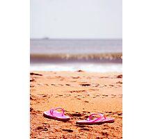 Running Barefoot  Photographic Print