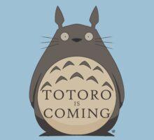 Totoro Is Coming Kids Tee