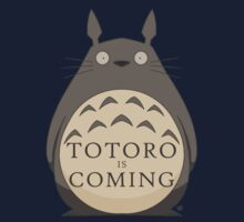 Totoro Is Coming One Piece - Long Sleeve