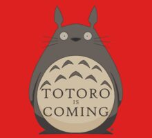 Totoro Is Coming Kids Clothes