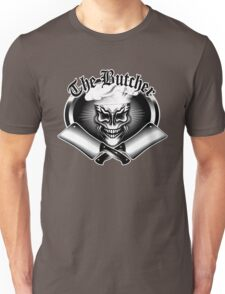 "Butcher Skull 1: ""The Butcher"" Unisex T-Shirt"