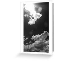 Faded Sky Greeting Card