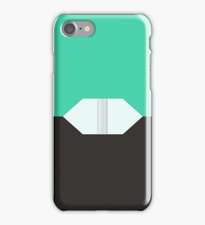 Cool Mint Pod iPhone Case/Skin