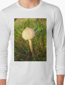 White Toadstool Long Sleeve T-Shirt