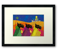 We Three Kings Framed Print