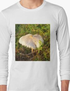 White Toadstool 3 Long Sleeve T-Shirt