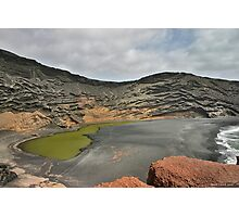 The Green Lagoon Photographic Print