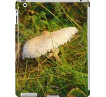 White Toadstool 6 iPad Case/Skin
