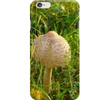 White Toadstool 8 iPhone Case/Skin