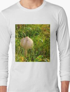 White Toadstool 8 Long Sleeve T-Shirt