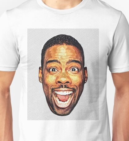 Funky Chris Rock Art Unisex T-Shirt