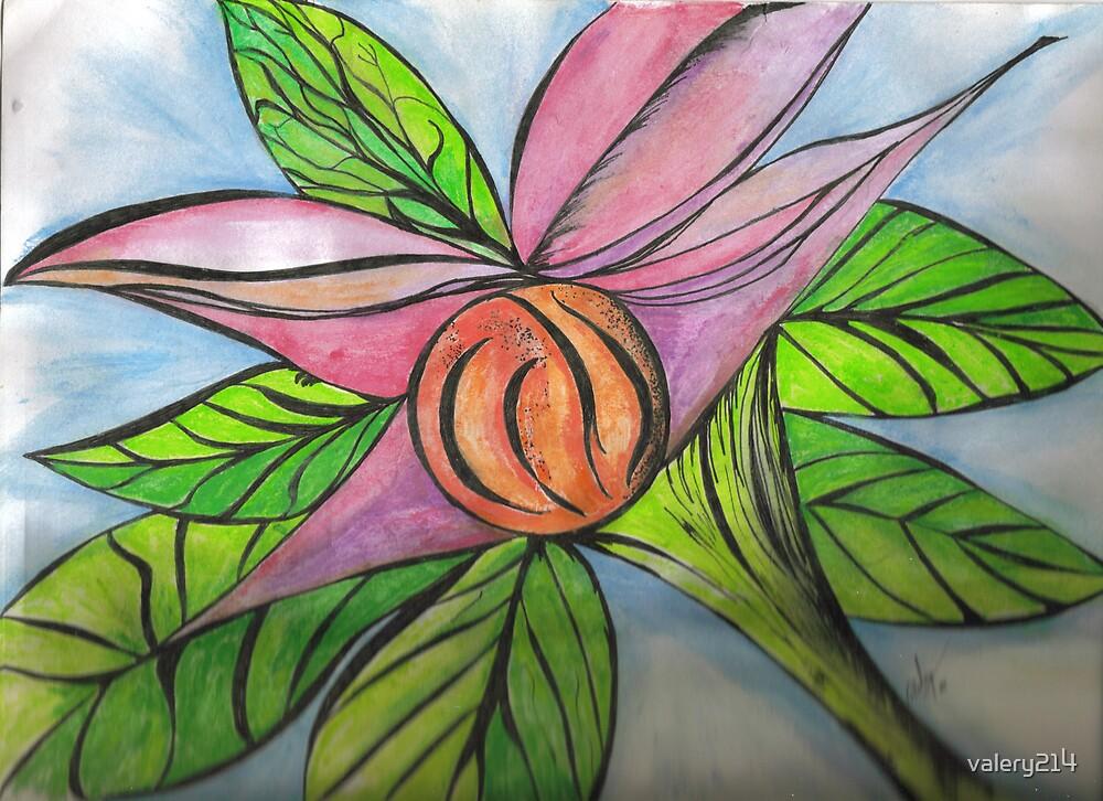 sci-fi flower by valery214