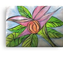 sci-fi flower Canvas Print