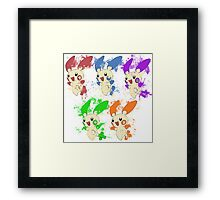 Mathematic and video games Framed Print